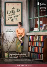 "Movie poster for ""THE BOOKSHOP"""