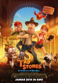"""Filmplakat für """"Tad Stones und das Geheimnis von König Midas"""""""