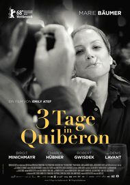"Movie poster for ""3 TAGE IN QUIBERON"""