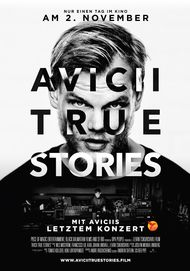 "Filmplakat für ""Avicii: True Stories"""