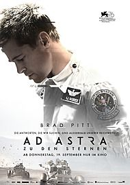 "Movie poster for ""AD ASTRA"""