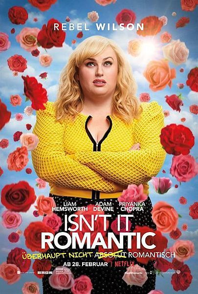 """Movie poster for """"ISN'T IT ROMANTIC ?"""""""