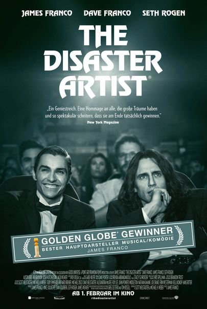 "Filmplakat für ""THE DISASTER ARTIST"""