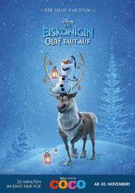 """Movie poster for """"Die Eiskönigin - Olaf taut auf"""""""