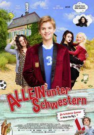 """Filmplakat für """"Allein unter Schwestern"""""""