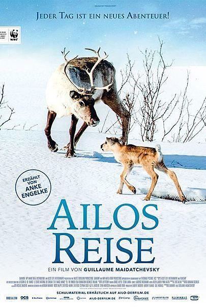 """Filmplakat für """"Ailos Reise - Grosse Abenteuer beginnen mit kleinen Schritten"""""""