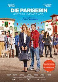 """Filmplakat für """"Die Pariserin - Auftrag Baskenland"""""""