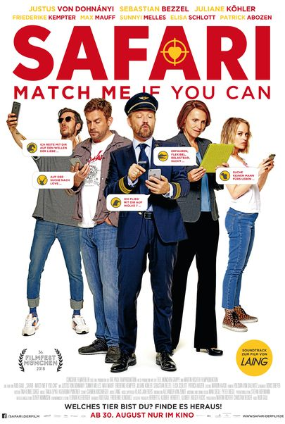 "Filmplakat für ""Safari - Match Me if You Can"""