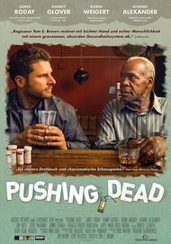 """Movie poster for """"Pushing Dead"""""""