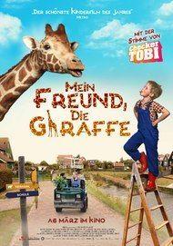 """Filmplakat für """"Mein Freund, die Giraffe"""""""