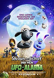 """Filmplakat für """"Shaun das Schaf – der Film: Ufo-Alarm"""""""