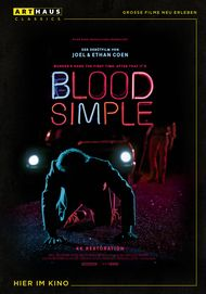 "Movie poster for ""Blood simple"""
