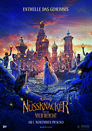"Movie poster for ""THE NUTCRACKER AND THE FOUR REALMS"""