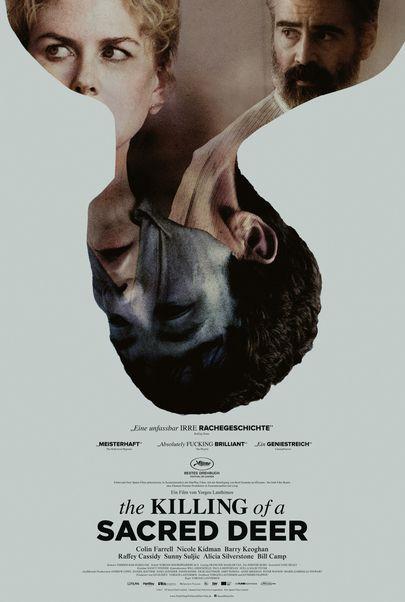 """Filmplakat für """"THE KILLING OF A SACRED DEER"""""""