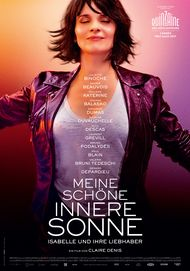 "Movie poster for ""UN BEAU SOLEIL INTERIEUR"""