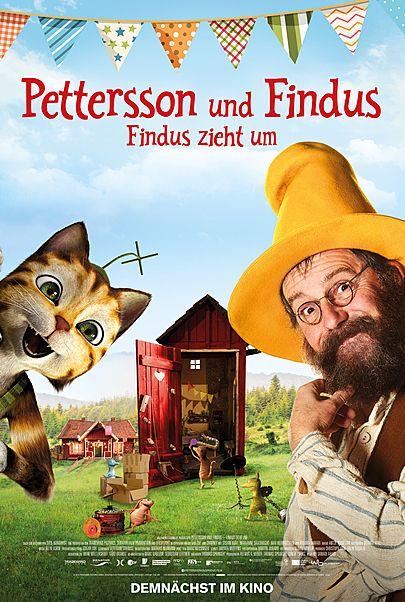 """Filmplakat für """"Pettersson & Findus: Findus zieht um"""""""