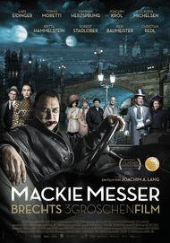 """Filmplakat für """"Mackie Messer - Brechts Dreigroschenfilm"""""""