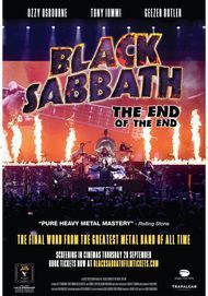 "Filmplakat für ""BLACK SABBATH: THE END OF THE END"""
