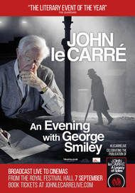 "Filmplakat für ""JOHN LE CARRE - AN EVENING WITH GEORGE SMILEY"""