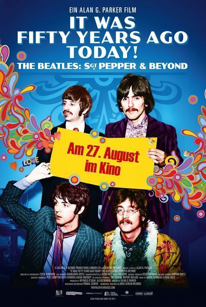 """Filmplakat für """"DECONSTRUCTING THE BEATLES: SGT. PEPPERS LONELY HEART CLUB BAND"""""""