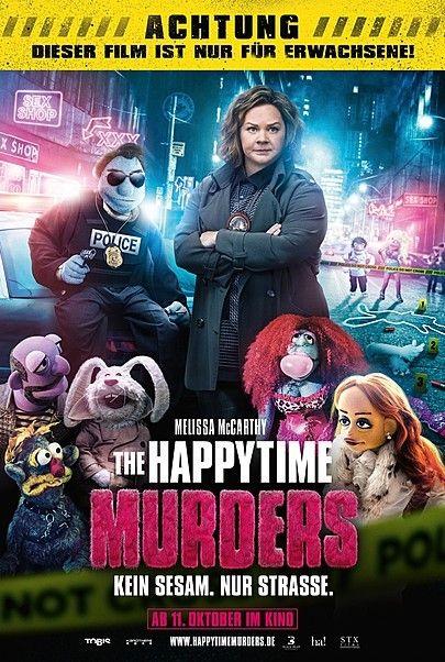 """Filmplakat für """"THE HAPPYTIME MURDERS"""""""