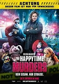 "Filmplakat für ""THE HAPPYTIME MURDERS"""