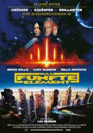 """Filmplakat für """"Das fünfte Element (WA)"""""""