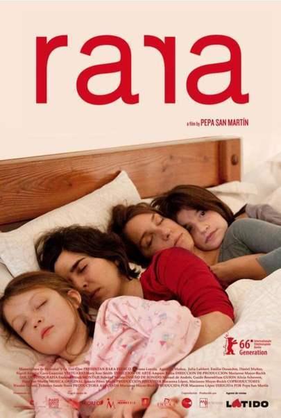 """Filmplakat für """"Rara - Meine Eltern sind irgendwie anders"""""""