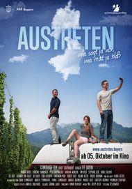 """Filmplakat für """"Austreten"""""""