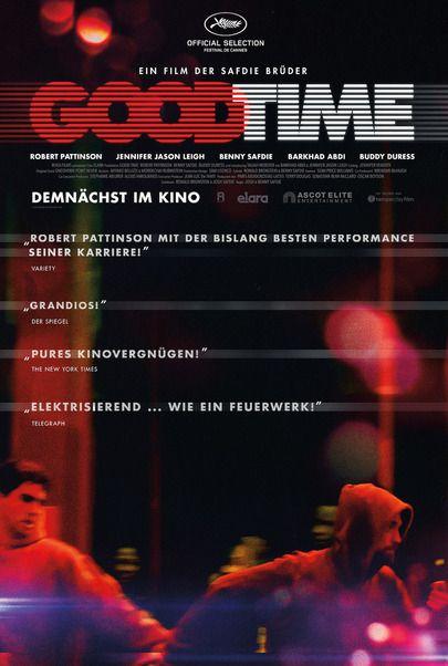 """Filmplakat für """"GOOD TIME"""""""