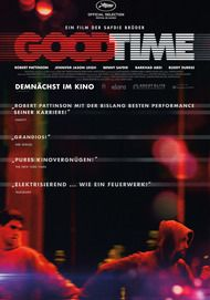 "Movie poster for ""GOOD TIME"""