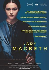 "Filmplakat für ""LADY MACBETH"""