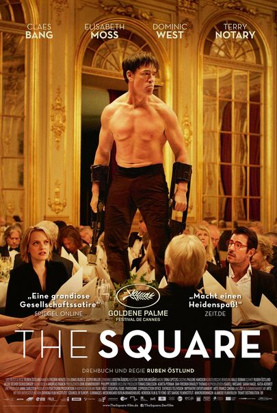 "Filmplakat für ""THE SQUARE"""