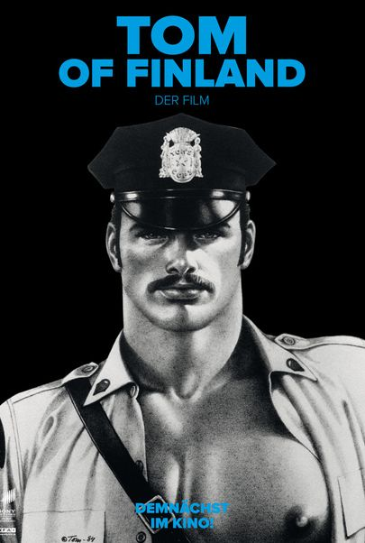 "Filmplakat für ""TOM OF FINLAND"""