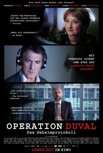 """Filmplakat für """"Operation Duval - Das Geheimprotokoll"""""""