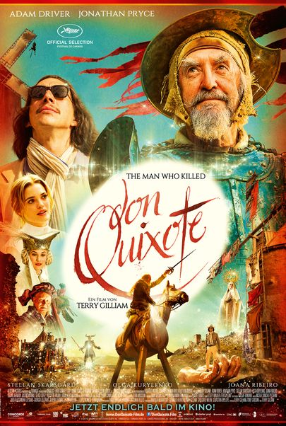 """Filmplakat für """"THE MAN WHO KILLED DON QUIXOTE"""""""