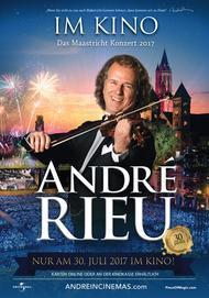 """Filmplakat für """"André Rieu - Das Maastricht Konzert 2017"""""""