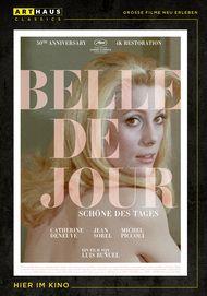 """Filmplakat für """"Belle de Jour - Schöne des Tages"""""""