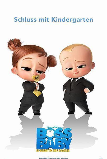 """Filmplakat für """"BOSS BABY - ES BLEIBT IN DER FAMILIE"""""""