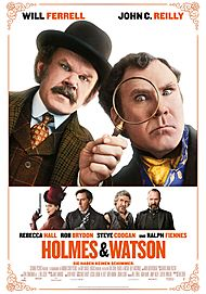 """Filmplakat für """"Holmes und Watson"""""""