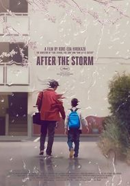 "Movie poster for ""AFTER THE STORM"""