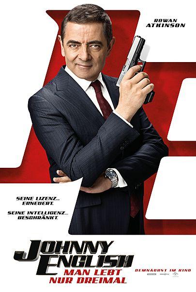 """Filmplakat für """"Johnny English - Man lebt nur dreimal"""""""