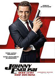 "Movie poster for ""Johnny English - Man lebt nur dreimal"""