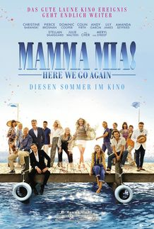 "Filmplakat für ""Mamma Mia: Here we go again!"""
