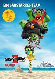 "Movie poster for ""THE ANGRY BIRDS MOVIE 2"""