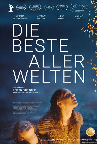 "Movie poster for ""Die Beste aller Welten"""