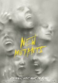 "Movie poster for ""THE NEW MUTANTS"""