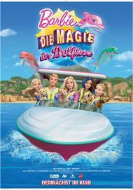 """Movie poster for """"Barbie - Dolphin Magic"""""""