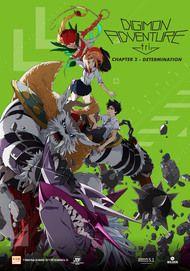 """Filmplakat für """"Digimon Adventure tri. - Chapter 2 Determination"""""""