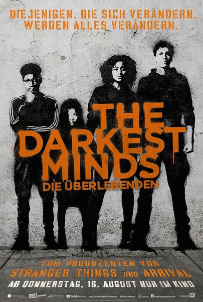 """Filmplakat für """"The Darkest Minds - Die Überlebenden"""""""